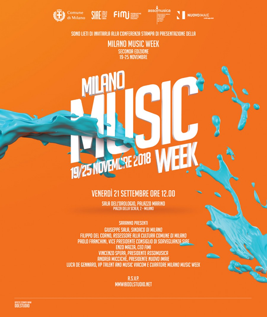 Milano Music Week 2018 - press room