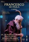 FRANCESCO DE PAULA L'OPERA 24, 25 novembre Reggio Calabria