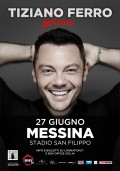 Tiziano FERRO sabato 27 giugno allo Stadio di Messina