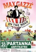 MAX GAZZE' il 20 agosto all'Anfiteatro di Partanna (TP)