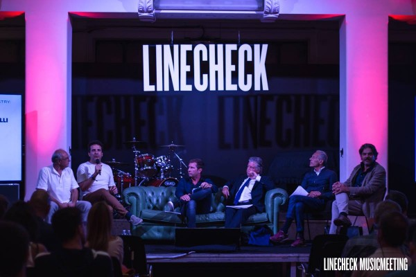 Asoomusica Panel at Linecheck 2016 in Milan